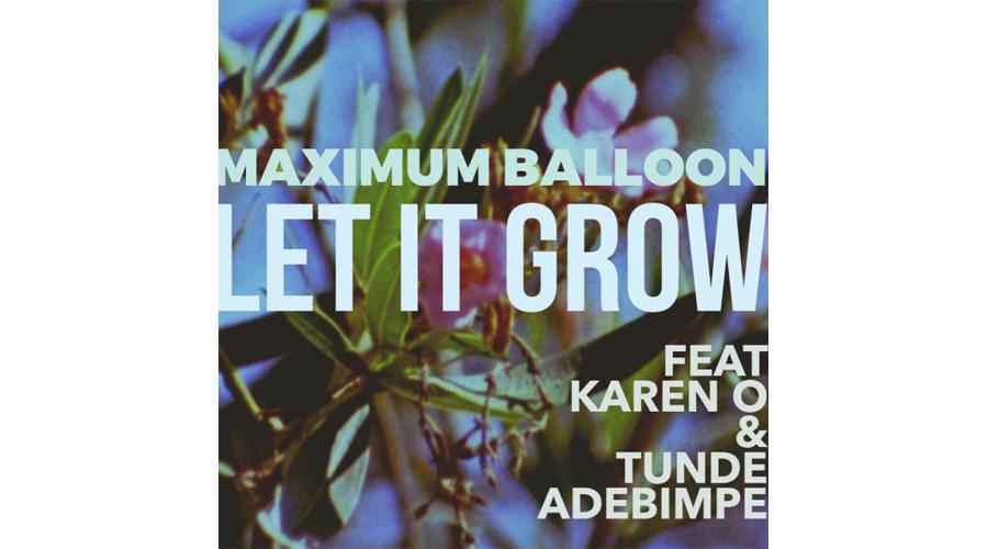 Maximum Balloon Karen O Tunde Adebimpe