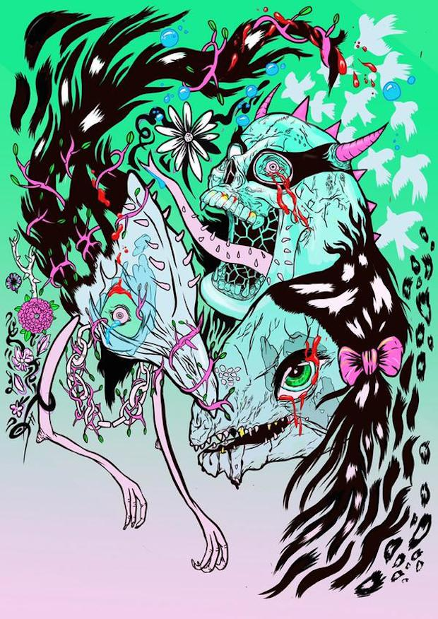 Grimes Designs Comic Book Cover for The Wicked + The Divine