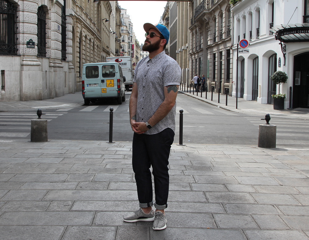 What I Wore Parisian Heatwave-Standing
