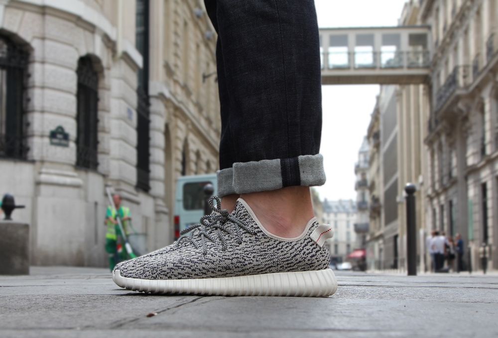 What I Wore Parisian Heatwave-Yeezys