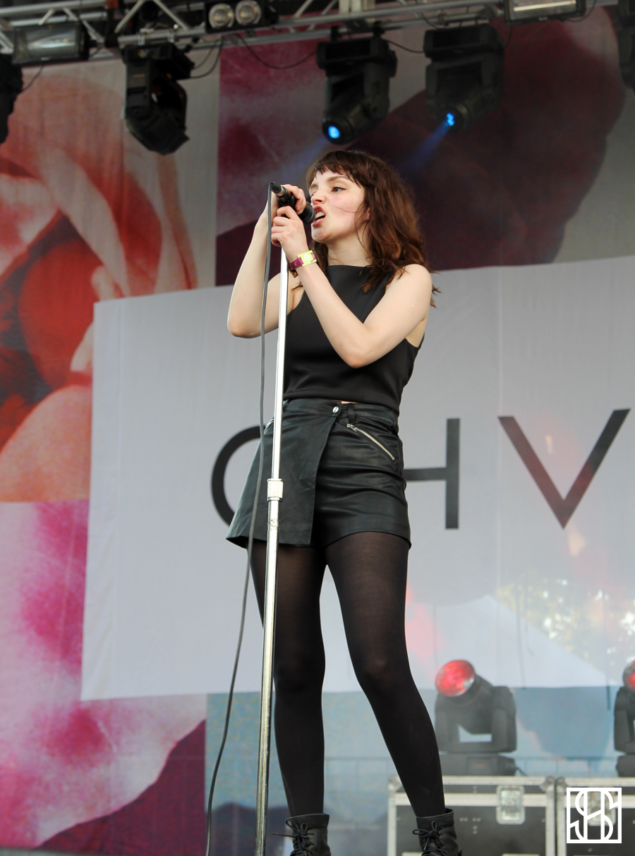 CHVRCHES at Pitchfork Music Festival 2015-2