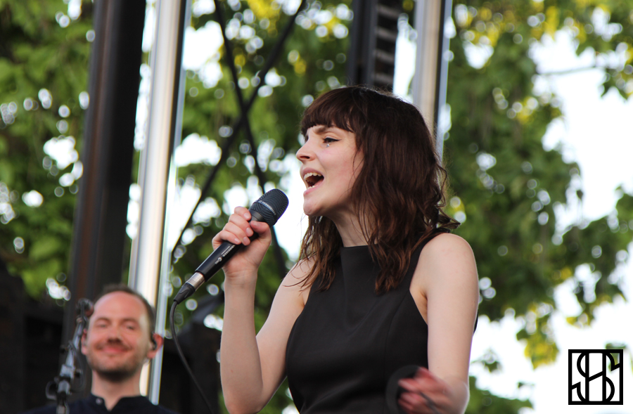 CHVRCHES at Pitchfork Music Festival 2015-3