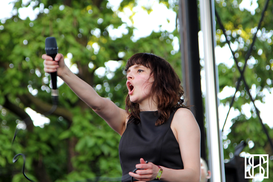 CHVRCHES at Pitchfork Music Festival 2015-4