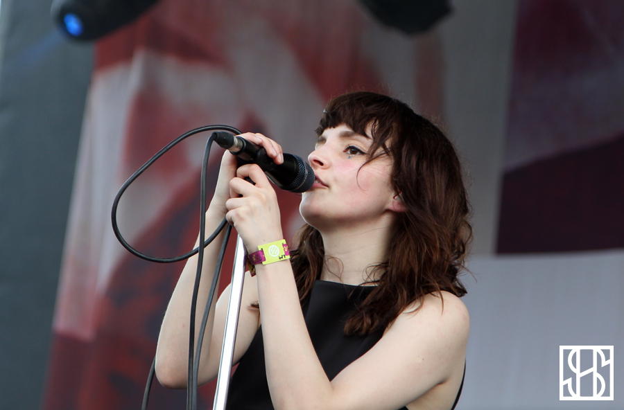 CHVRCHES at Pitchfork Music Festival 2015-5