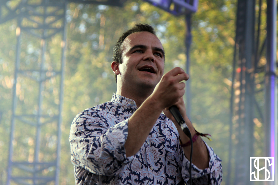 Future Islands at Pitchfork Music Festival 2015