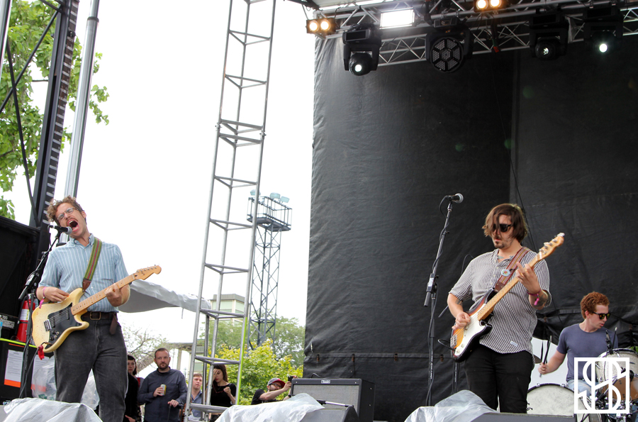 Parquet Courts at Pitchfork Music Festival 2015-3