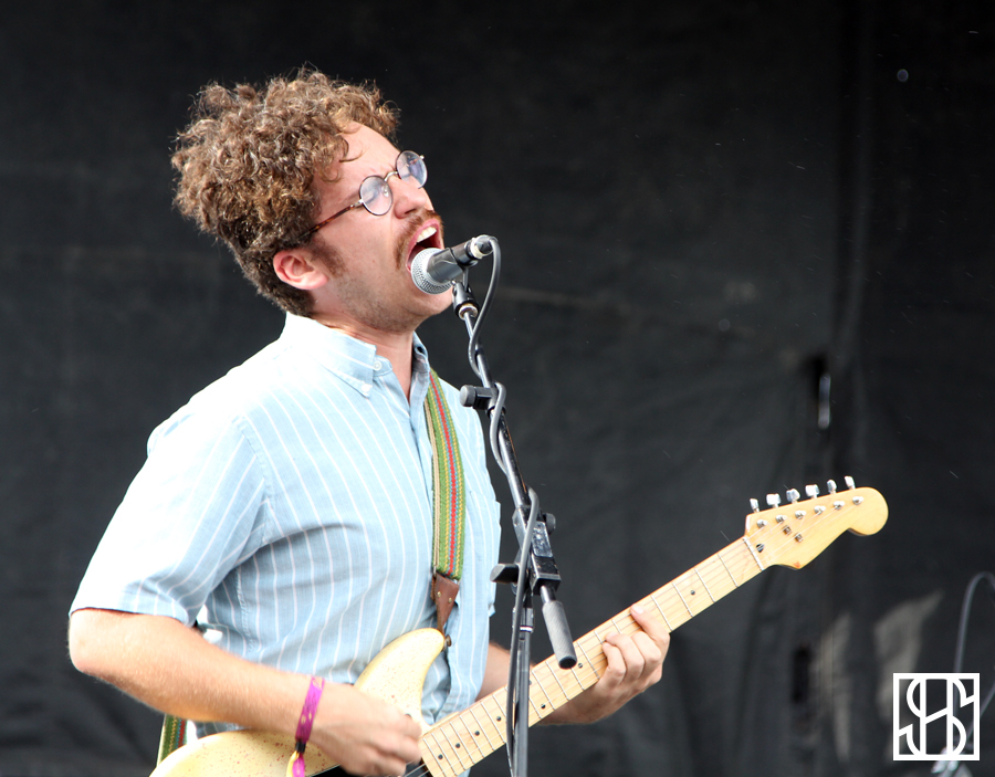Parquet Courts at Pitchfork Music Festival 2015