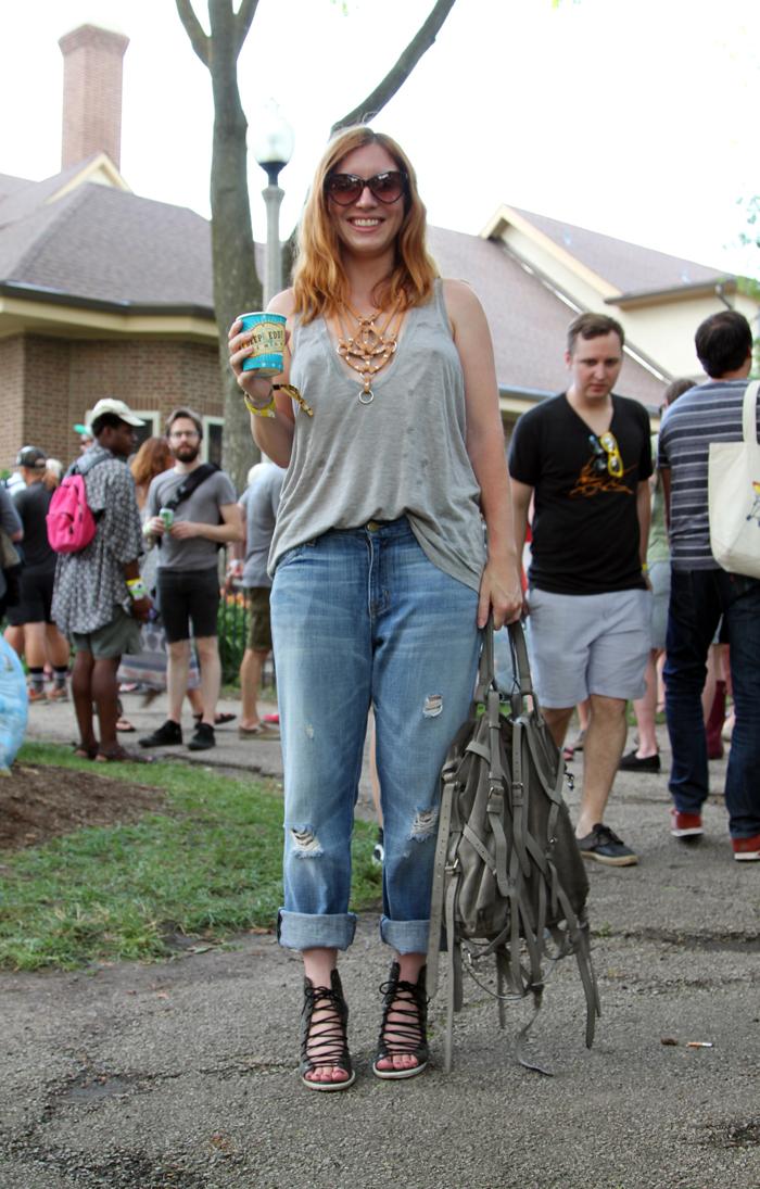 Pitchfork Music Festival Street Style 2015-11