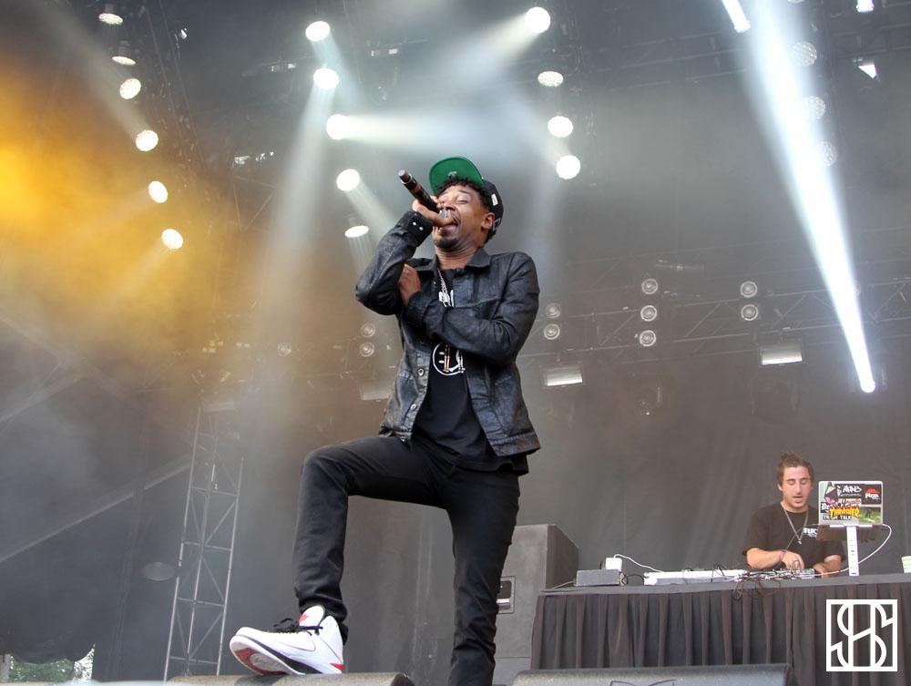 Danny Brown WayHome Music Festival 2015-4