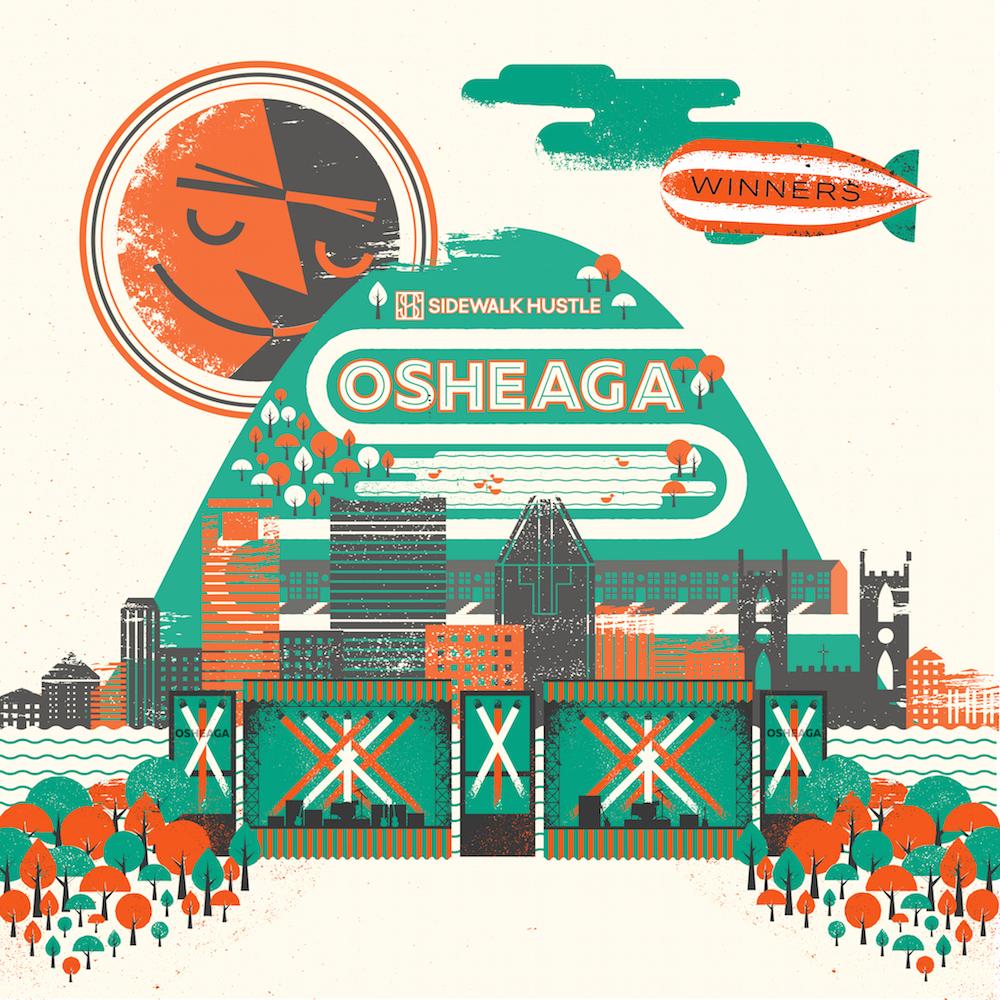 Sidewalk Hustle x Winners Osheaga Mixtape 2