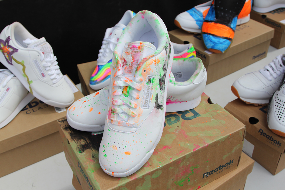 Wrap Up Reebok Classic Canada x WayHome Painted Shoes