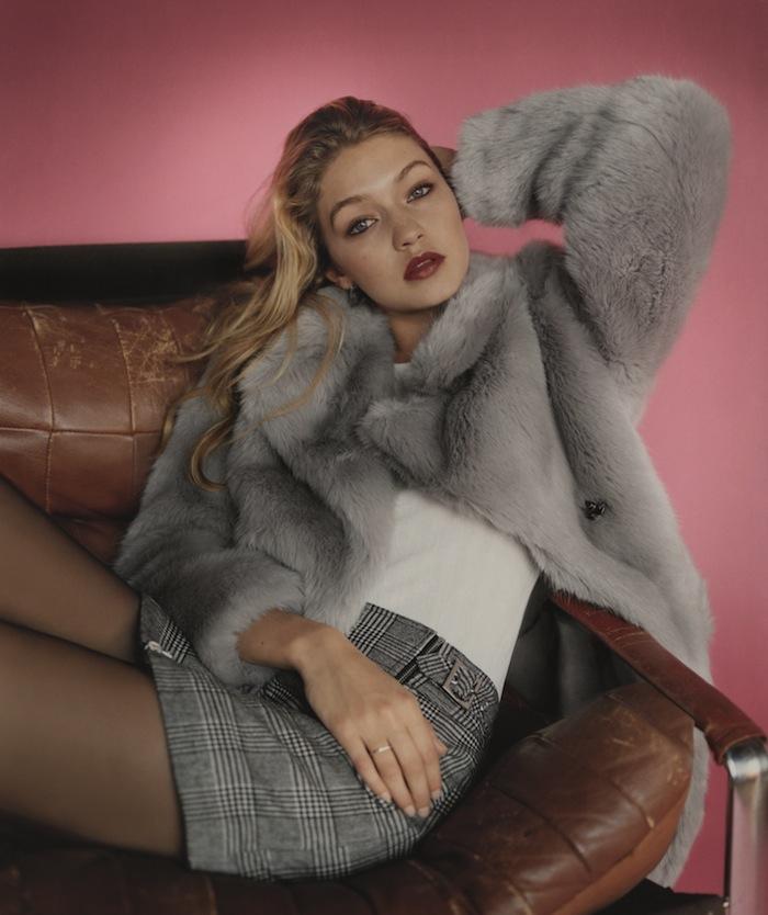 Gigi Hadid for TOPSHOP Autumn Winter 2015-2