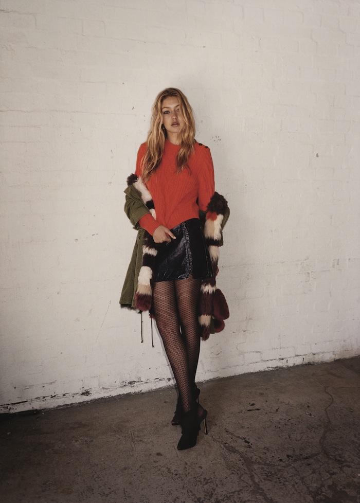 Gigi Hadid for TOPSHOP Autumn Winter 2015-5