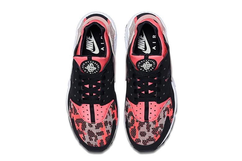 Nike Air Huarache Hyper Pink Wolf Grey-Black-3