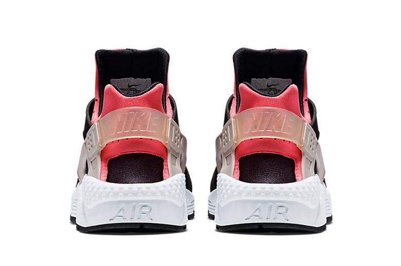 Nike Air Huarache Hyper Pink Wolf Grey-Black