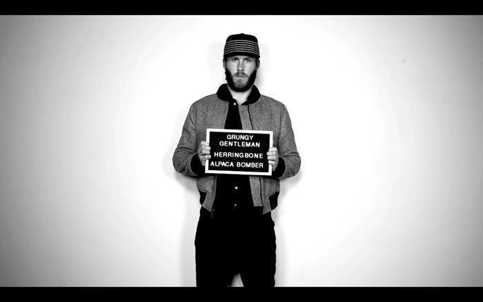 Grungy Gentleman 2015 Fall Winter Video Campaign