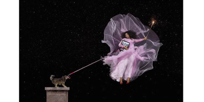 Oprah Winfrey as Glinda The Good Witch