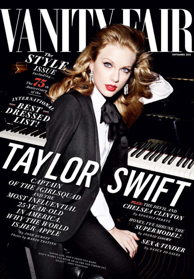 Taylor Swift for Vanity Fair September 2015