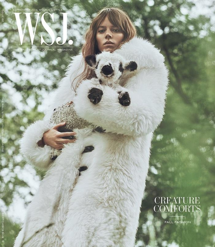 Freja Covers WSJ Magazine's September Women's Fashion Issue-1