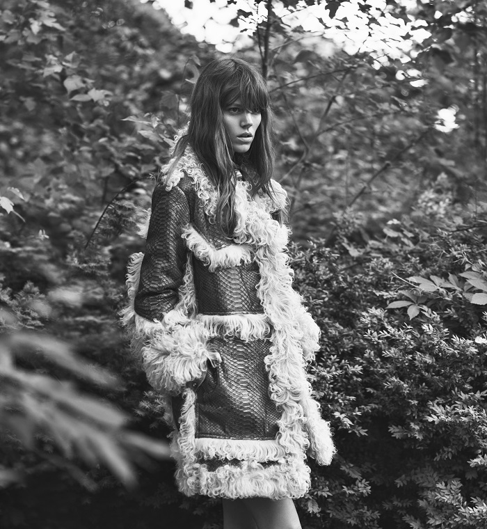 Freja Covers WSJ Magazine's September Women's Fashion Issue-2