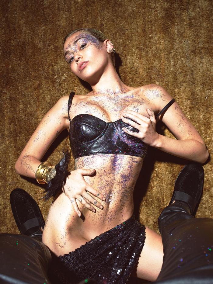 Miley Cyrus Mert Marcus W Magazine