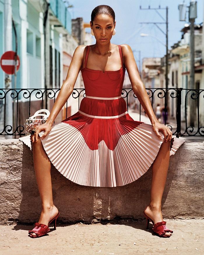 Adriana Lima & Joan Smalls 'Viva Cuba' For W Magazine-1