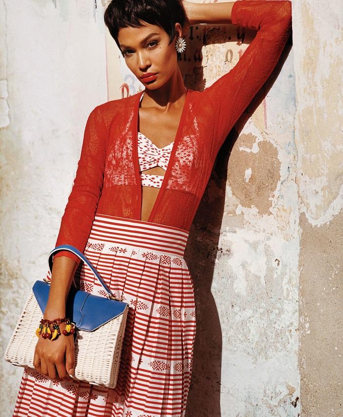 Adriana Lima & Joan Smalls 'Viva Cuba' For W Magazine-10