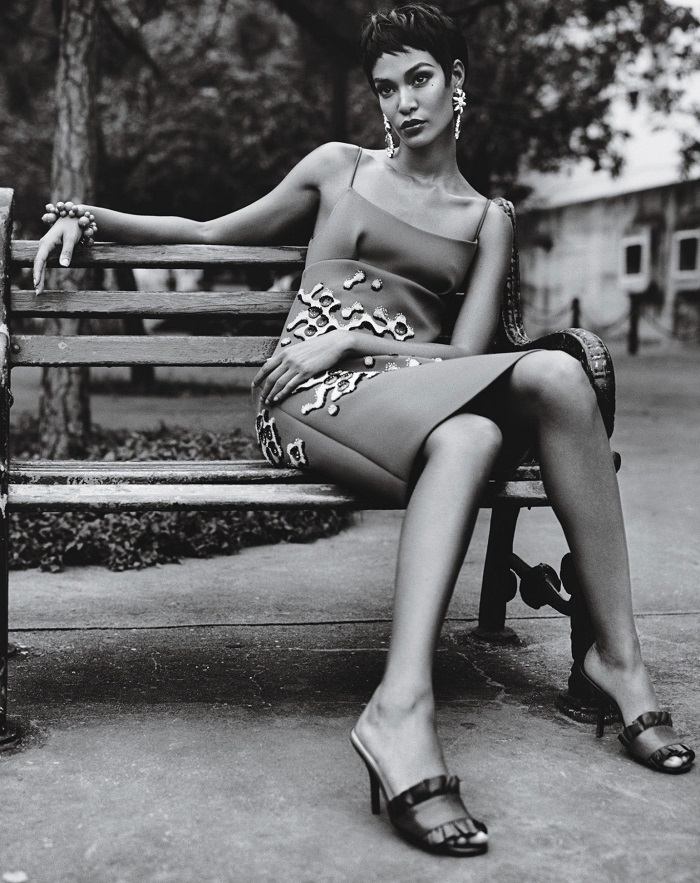 Adriana Lima & Joan Smalls 'Viva Cuba' For W Magazine-11
