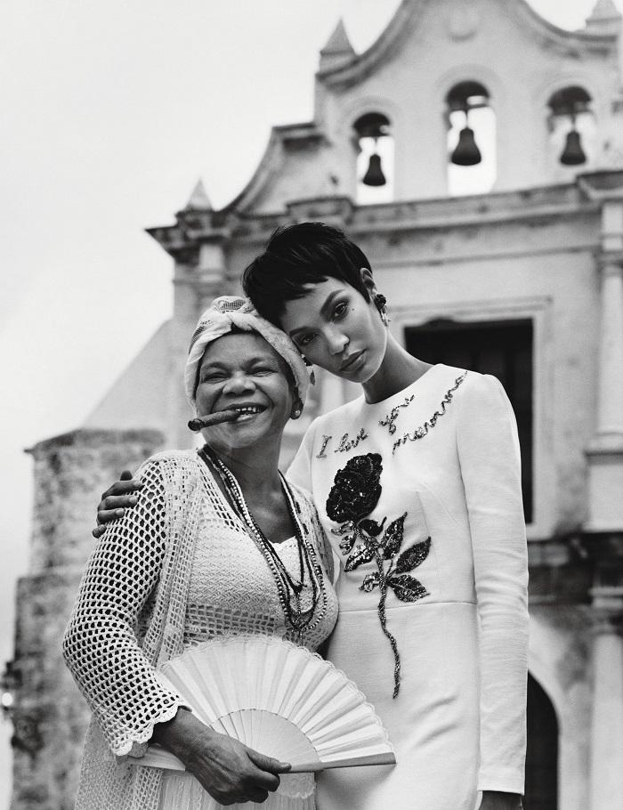 Adriana Lima & Joan Smalls 'Viva Cuba' For W Magazine-12