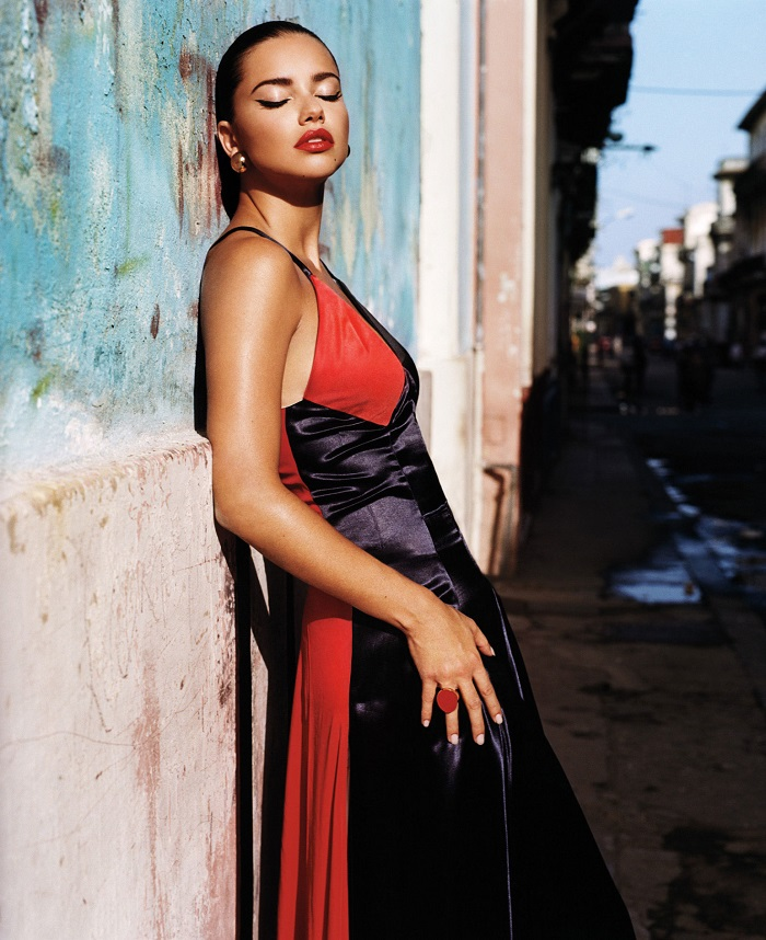 Adriana Lima & Joan Smalls 'Viva Cuba' For W Magazine-2