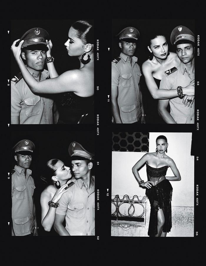 Adriana Lima & Joan Smalls 'Viva Cuba' For W Magazine-4