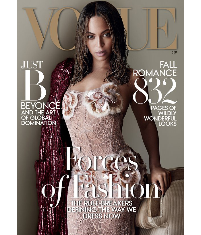 Beyonce Vogue September 2015
