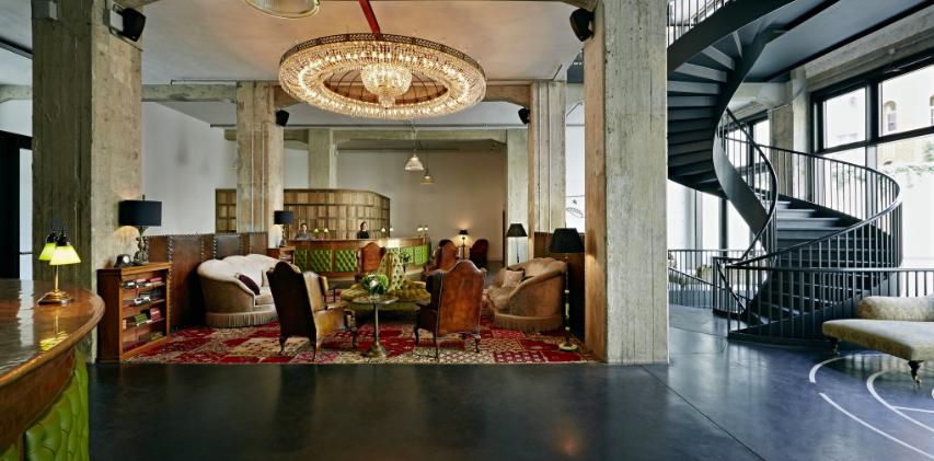 Soho House Berlin Lobby
