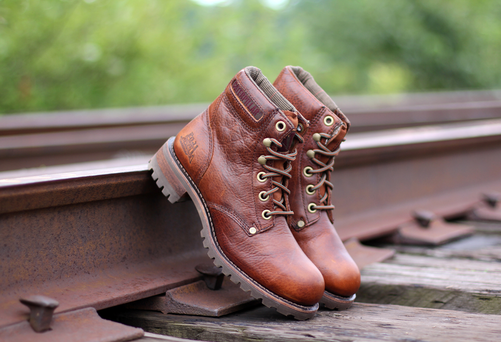Cat Footwear Fall 2015 Lookbook-Caramel Leather