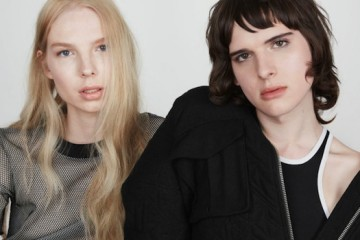 Hari Nef and Valentijn De Hingh for And Other Stories Fall 2015