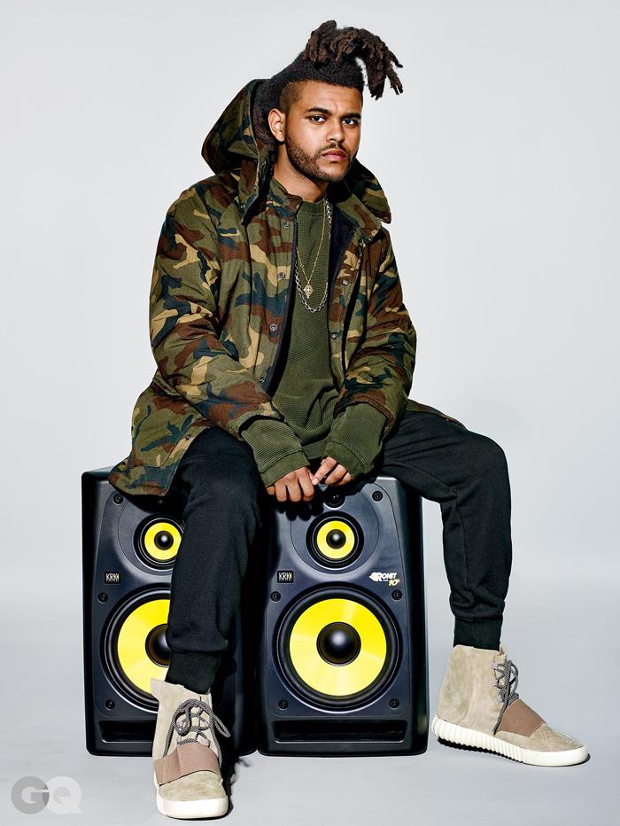 The Weeknd x Kanye West adidas GQ 2015-1