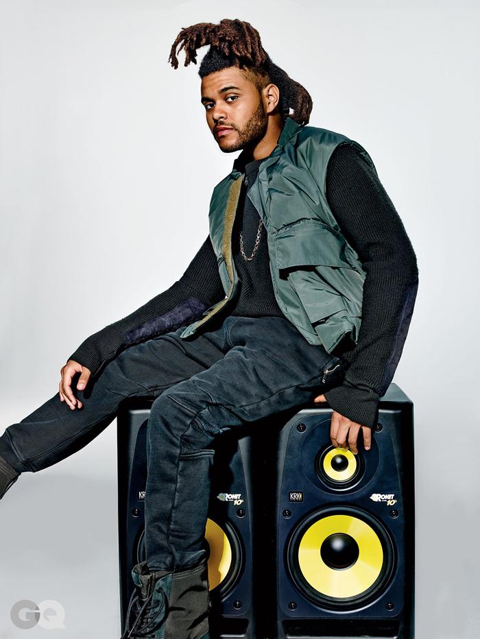 The Weeknd x Kanye West adidas GQ 2015-2