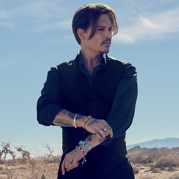 Johnny Depp for Dior Sauvage