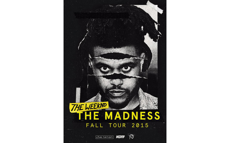 The Weeknd The Madness Fall Tour