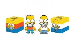 Kidrobot x Ron English x Kenny Scharf Simpsons Figures-1