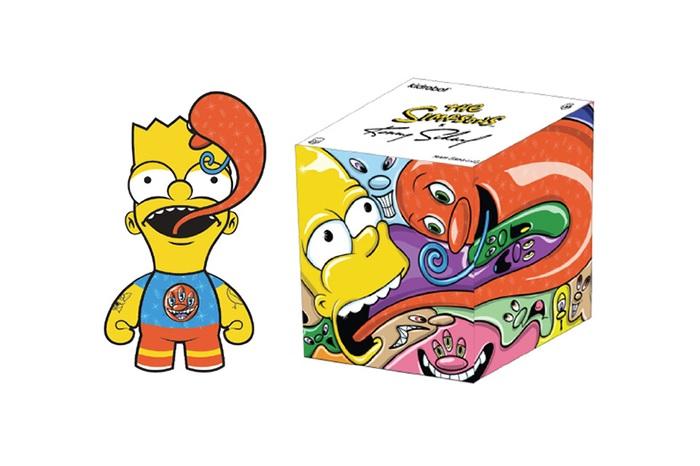 Kidrobot x Ron English x Kenny Scharf Simpsons Figures-2
