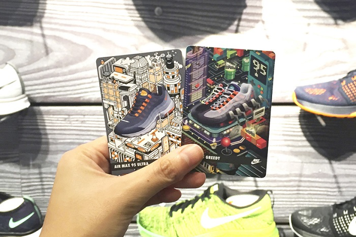 Nike Celebrates the 20th Anniversary of the Air Max 95's With Trading Card Collectibles-2
