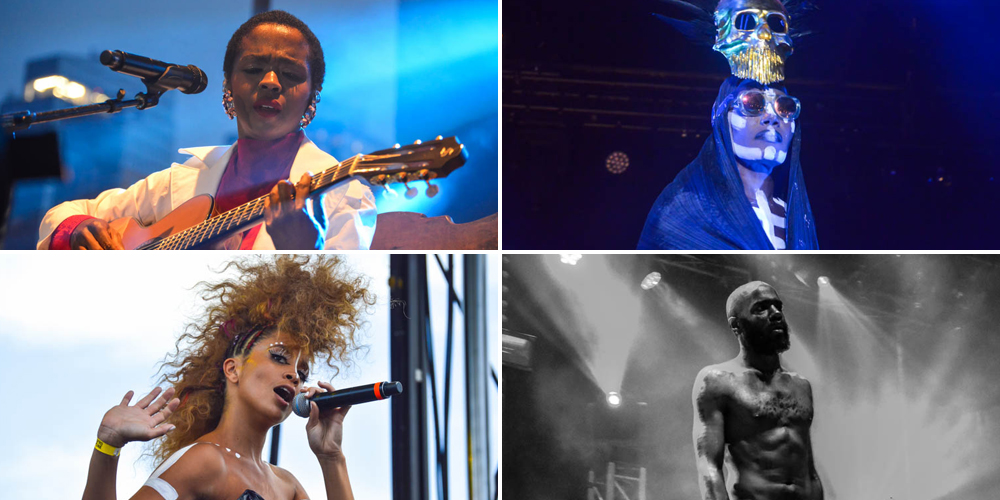 AfroPunk Festival 2015 Grace Jones Lauryn Hill Lion Babe Death Grips