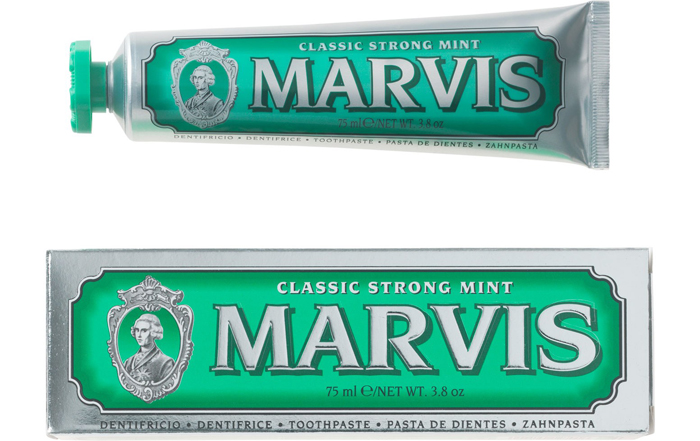 Classic Strong Mint Marvis Toothpaste