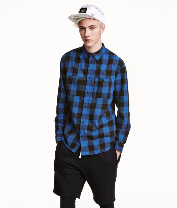 HM Fall 2015 Mens Lookbook Lucky Blue Smith-9