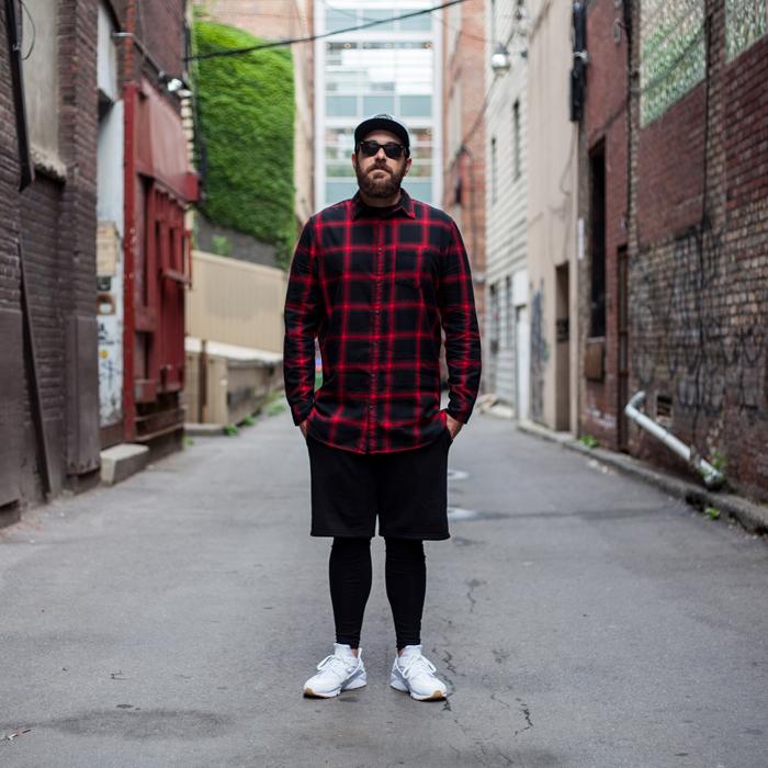 HM Toronto Eaton Centre Mens Fashion Streetstyle-BUFFALO CHECK