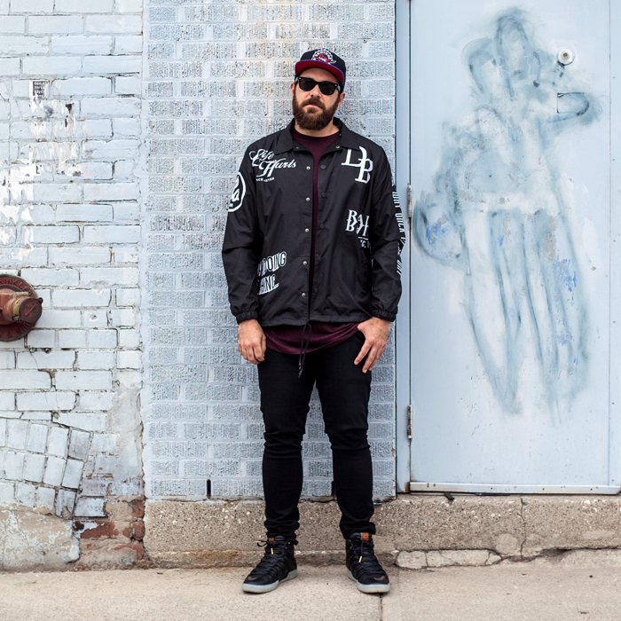 HM Toronto Eaton Centre Mens Fashion Streetstyle-Jeans Jacket