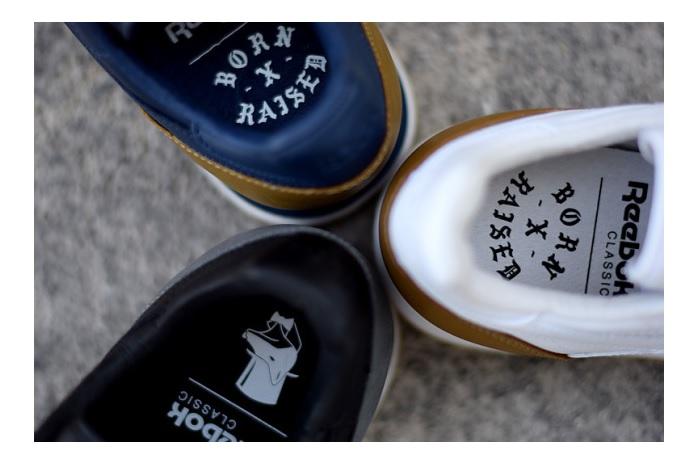 Born x Raised x Reebok Classic CL Leather Pack-5