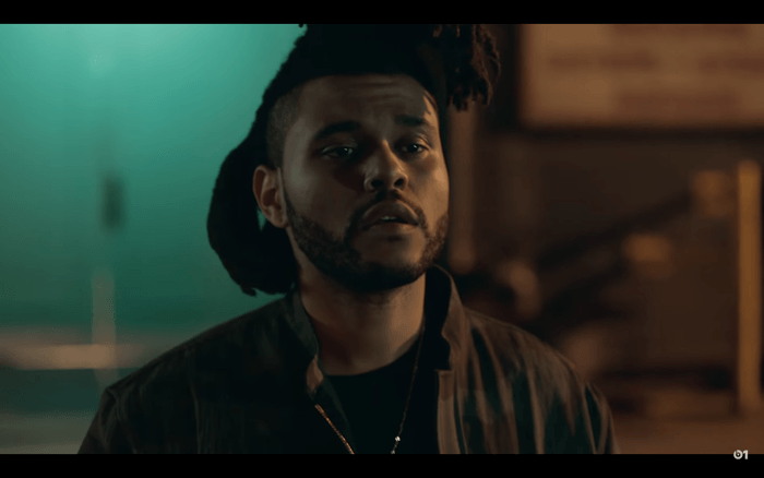 The Weeknd Stars in the Apple Music Campagin