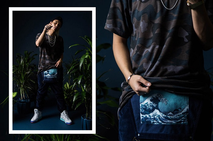 Pink Dolphin Fall Winter 2015 Editorial Featuring Keith Ape-13
